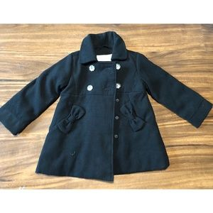 Girls 2T Wonder Kids Black Jacket